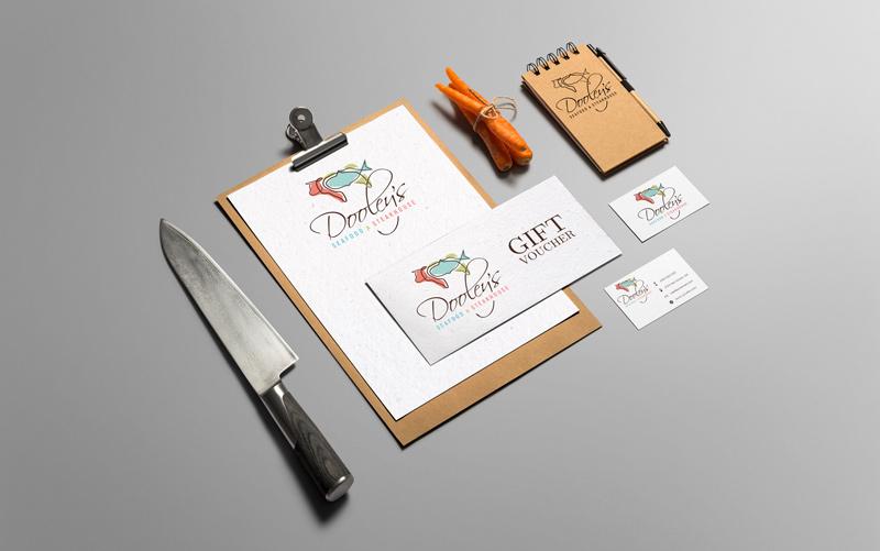 logo design, corporate identity, branding, stationery
