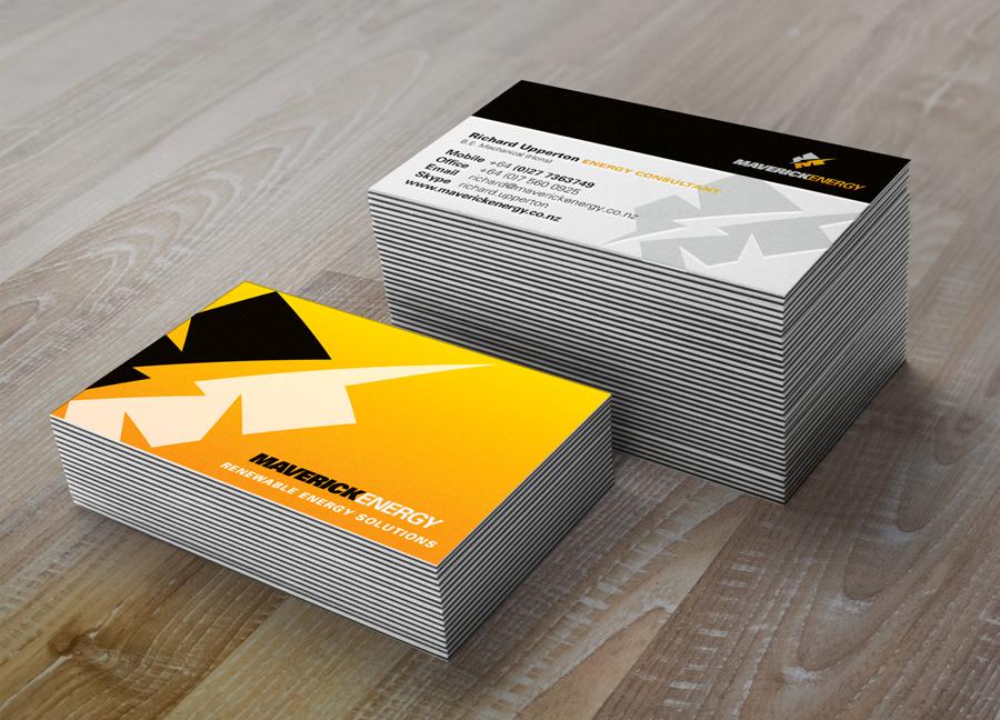 business cards, logo design