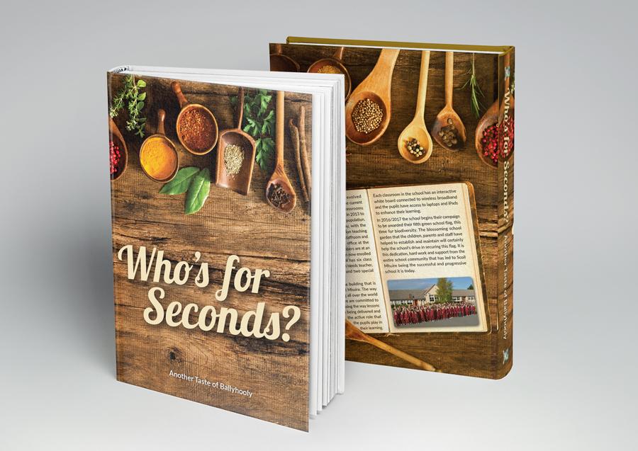 cookbook, graphic design